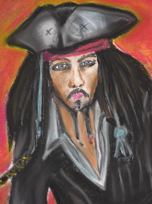 Johnny Depp par Shantja